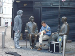 Buskers in Galway City